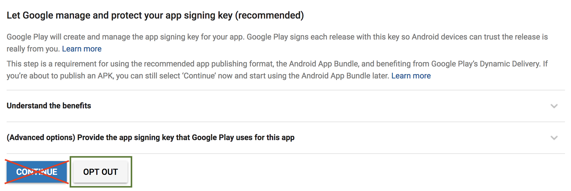 Publish your game on the Play Store [GDevelop wiki]